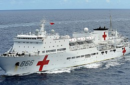Chinese Navy Hospital Ship Visits Timor-Leste, Highlighting Growing Ties