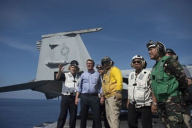 US Reveals South China Sea Joint Patrols With the Philippines