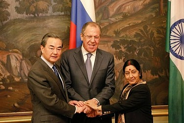 Foreign Ministers of Russia, India, China Meet in Moscow