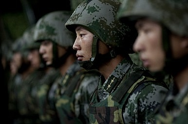 Chinese PLA Company Command: The Party Line