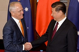 Malcolm Turnbull's Visit to China