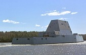 US Navy's New Stealth Destroyer Suffers Engineering Casualty