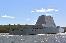 US Navy's Lethal New Destroyer Heads for Acceptance Trials