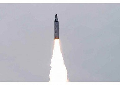 North Korea Tests Solid-Fuel Submarine-Launched Ballistic Missile