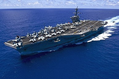 US Navy Installs First Drone Command Aboard Aircraft Carrier