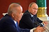 Uzbekistan's Karimov Out-Talks Putin in Moscow