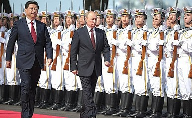 China and Russia to Increase Number of Military Exercises in 2016