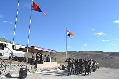 India, Mongolia Launch Military Exercise With Counterterrorism Focus