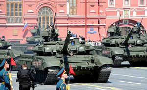 Russia Holds Military Parade Showcasing Weapons Used in Syria Conflict