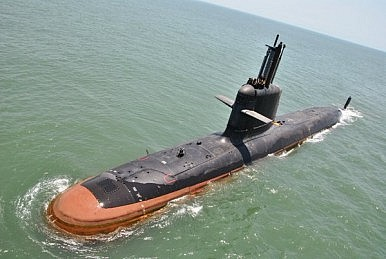 India's First Scorpene Attack Submarine Goes to Sea Trials