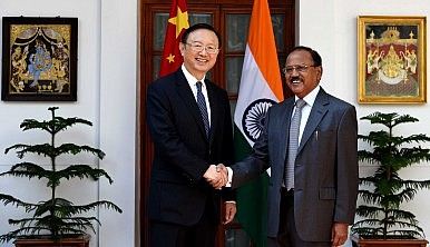Chinese National Media Downplays Indian Official's Visit to Beijing
