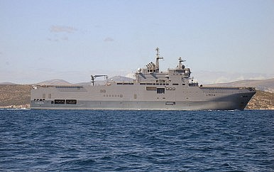 French Warship Visits Vietnam's Cam Ranh Bay