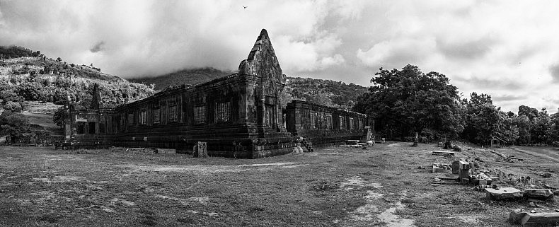 The ancient temples of Wat Phu. Photo by Gareth Bright.