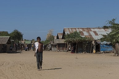 Sitiwe, Myanmar Rohingya IDP camps and Aung Mingalar ghetto