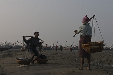 Sitiwe, Myanmar Rohingya IDP camps and Aung Mingalar ghetto