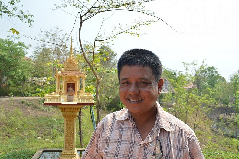 Tuouch, who joined the Khmer Rouge in 1981 and is now a district police chief.