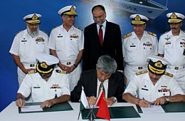 Pakistan Begins Construction of 600-Ton Maritime Patrol Vessel