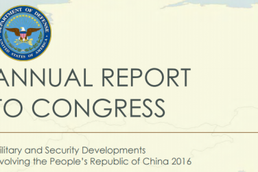 China: US Report 'Deliberately Distorted' China's Defense Policy