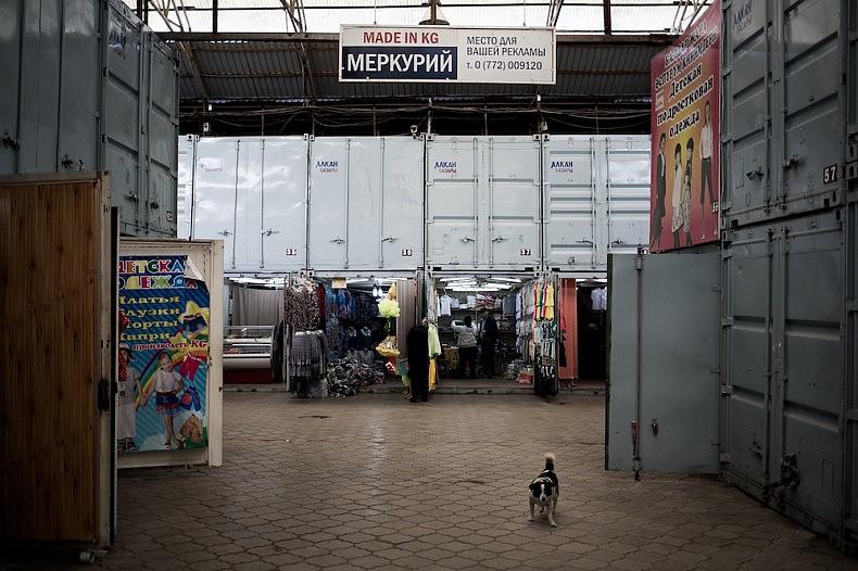 Dordoi market. Made in Kyrgyzstan. Source: Elyor Nematov