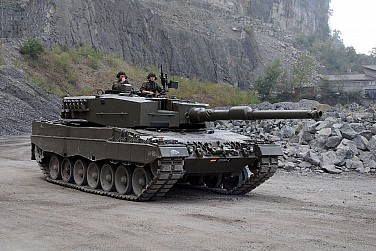 Indonesia Receives First Batch of New German-made Main Battle Tanks