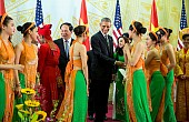 Obama's Warm Welcome in Vietnam