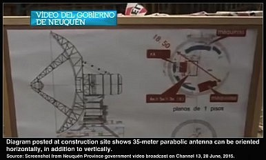 Diagram posted at construction site 1.8M