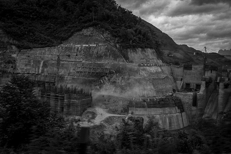 Once completed, the 3 proposed dams on the Nam Kong river will inundate around 1500 km of land, displacing thousands. Photo by Gareth Bright.