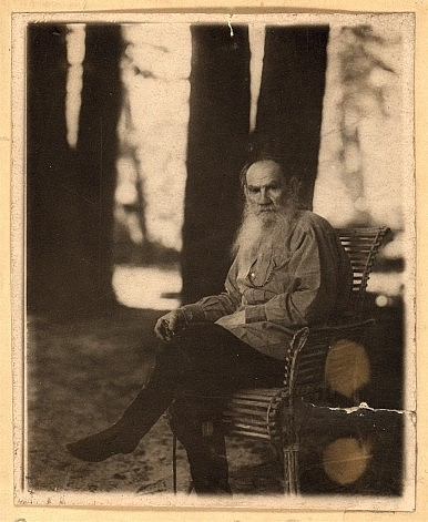 Leo Tolstoy in May 1908.