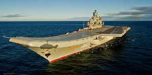 Russia's Aircraft Carrier to be Upgraded to Carry Mig-29K/KUB Fighter Jets