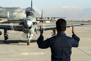 Afghan Air Force's A-29s Only Drop 'Dumb' Bombs in Air Strikes so far