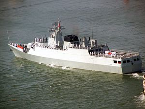 China's Navy Inducts 2 More Sub Killer Stealth Warships