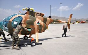 Afghan Air Force Gets 5 New Attack Helicopters