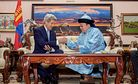 US Secretary of State Lauds Mongolia's Democracy, Calls for Greater Transparency
