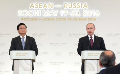 ASEAN and Russia: Creating a New Security Architecture