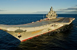 Modernization of Russia's Sole Aircraft Carrier Still Facing Delays