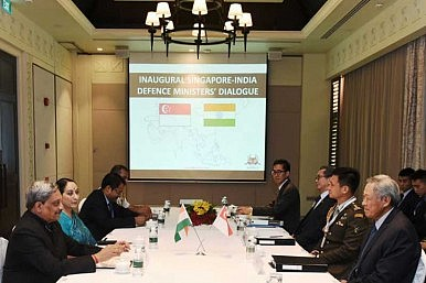 Singapore, India Hold First Defense Ministers' Dialogue