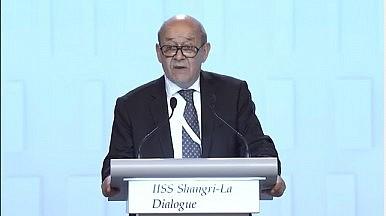 French Defense Minister to Urge EU South China Sea Patrols