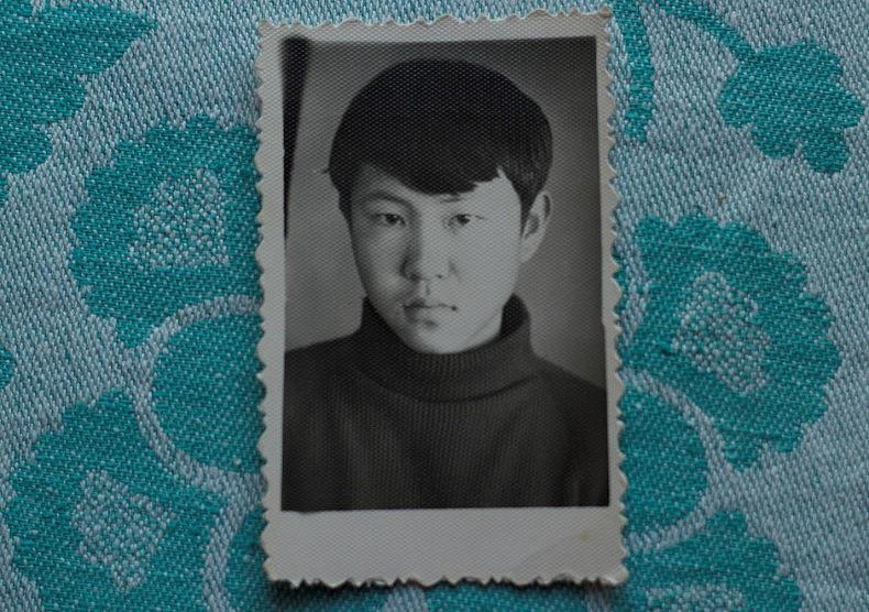 Young Nikolay Ten. Courtesy of Victoria Kim