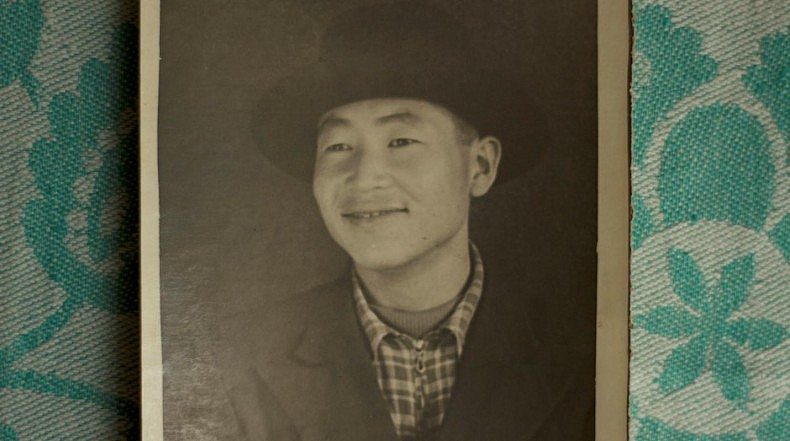 My then-young grandfather Kim Da Gir. Courtesy of Victoria Kim.