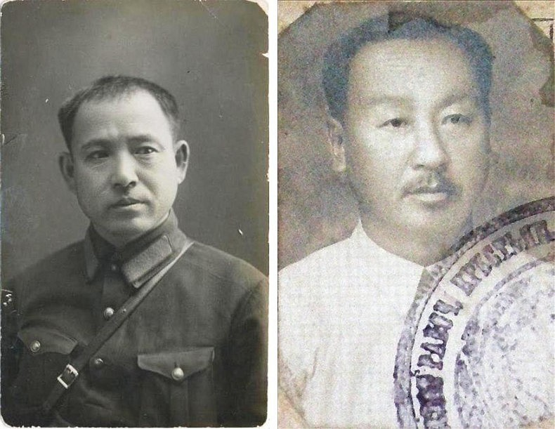 Left: Han Chan Ger, a famous Korean hero of the civil war in the Far East, 1918-1922. Right: Park Gen Cher, another famous Korean hero of the civil war in the Far East. Courtesy of Victoria Kim.
