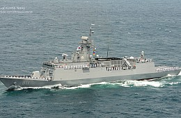 ROK Navy Launches New Warship Capable of Hitting Targets Inside North Korea
