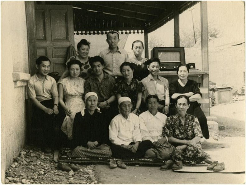 A typical Korean family in a kolkhoz after 1956. Courtesy of Victoria Kim.