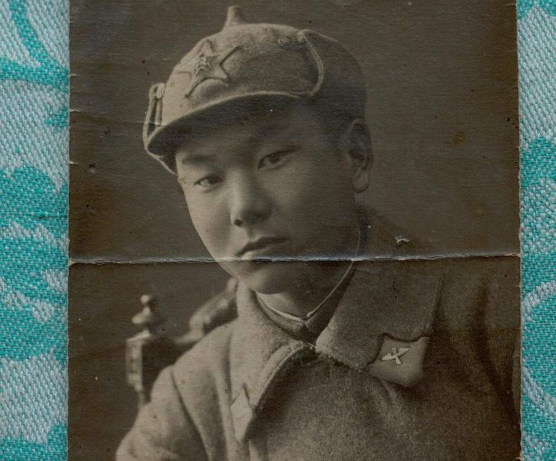 Fedor Lee in the Soviet army. Courtesy of Victoria Kim.