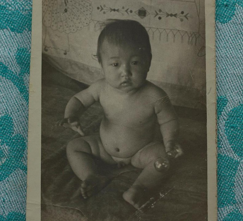 Alexey's son Leonid or little Lenya. Courtesy of Victoria Ki.