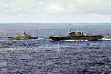 Singapore Warship is First Non-US Vessel to Lead RIMPAC Group Sail