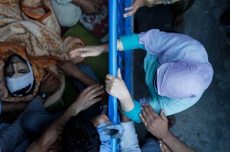 A Militant's Funeral Ignites Kashmir