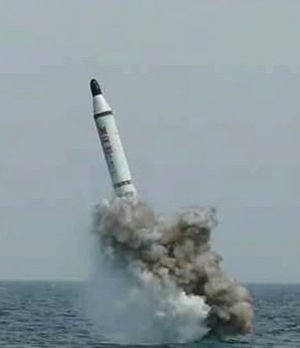 Mad About THAAD: North Korea Tests Submarine-Launched Ballistic Missile