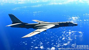China Flies 'Strategic' Bomber Over Disputed Feature in South China Sea