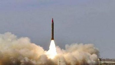 Pakistan's Shaheen-III Ballistic Missile May Use Chinese Transporter