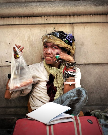 The Faces of Bangkok's Homeless